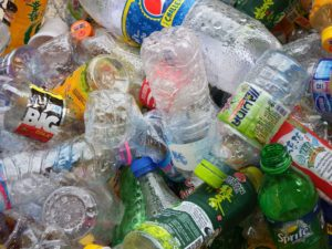 recycled-plastic-bottles by Ian L